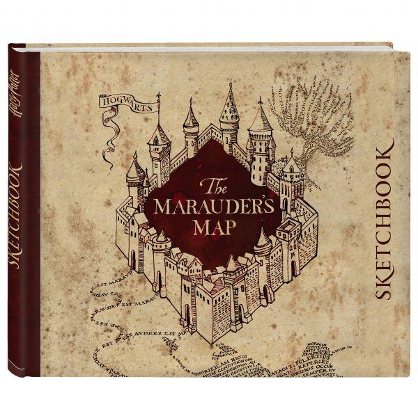 Купить скетчбук Гарри Поттер Карта мародеров в Москве и ...