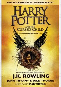 Книга Harry Potter and the Cursed Child