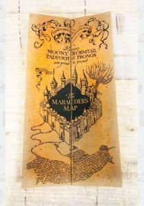 Гарри Поттер. Уникальная Карта Мародёров