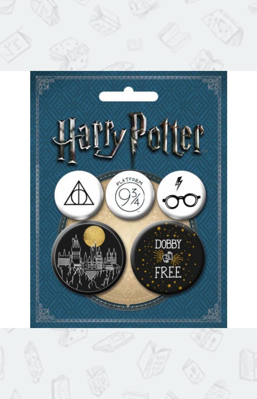 Купить набор значков в стиле Гарри Поттера в Москве и СПб ...