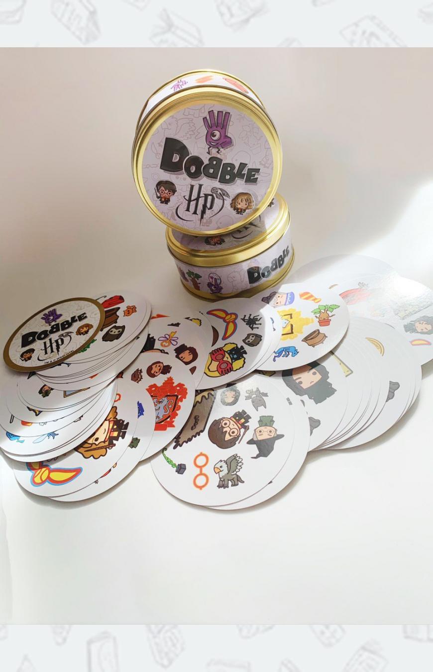 Купить настольную игру Доббль Гарри Поттер ᐉ игры от HPRosmen
